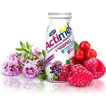 Напиток йогуртный 2.5% клюква-малина-чабрец, Actimel, 100 гр, ПЭТ