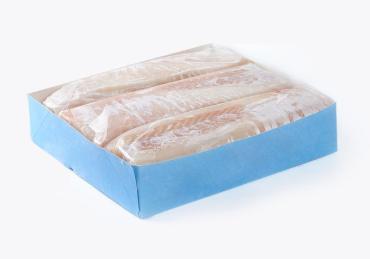 Филе трески без кожи проложенное без глазури, экспортный вариант, Мурманск