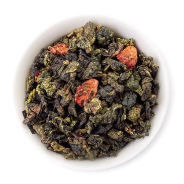 Чай листовой Улун Клубничный