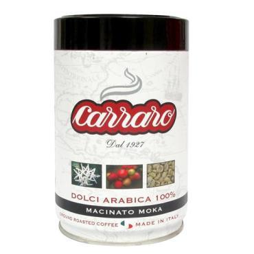 Кофе Carraro Dolci Arabica 100% молотый 250 г.