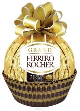 Конфеты Ferrerero Rocher Grand молочные фигурные