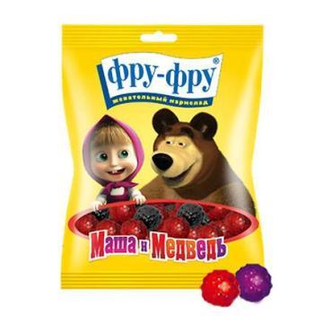 Мармелад Фру-Фру Маша и Медведь малина/ежевика