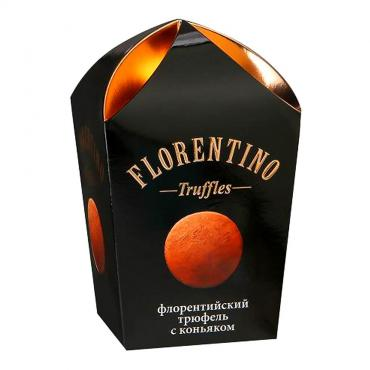 Конфеты Флорентийский трюфель с коньяком Florentino, 175 гр., Картонная коробка