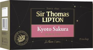Чай черный Sir Thomas Lipton Kyoto Sakura с ароматом вишни 25шт.