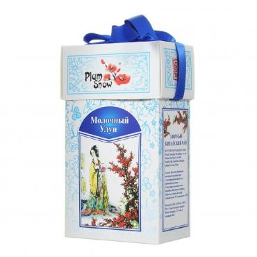 Чай Plum Snow Молочный Улун зеленый, 50 гр., картон