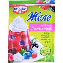 Желе Dr.Oetker со вкусом лесной ягоды