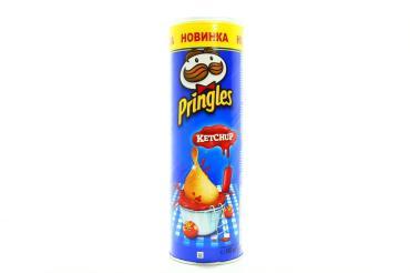 Чипсы картофельные Ketchup, Pringles, 165 гр, картон
