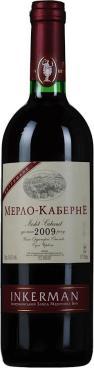 Вино Inkerman Мерло-Каберне красное сухое столовое