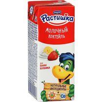 Молоко аром Растишка 210г ф-18 банан-клубника
