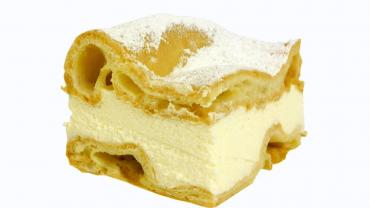 Пирожные Слоянка Удивительные с нежным кремом