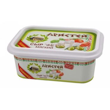 Сыр Аристей Фету Оливки мягкий 45%
