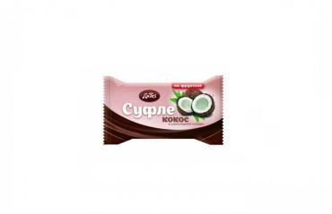 Cуфле ДиYes кокосовое на фруктозе в шоколадной глазури