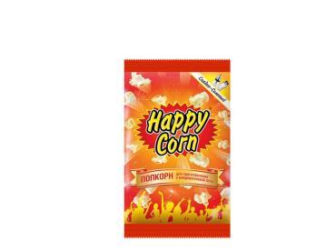 Попкорн Happy Corn Сладко-соленый Для приготовления в СВЧ