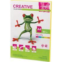 Бумага для печати Creative Neon желтая А4 80 г/м² 50 листов