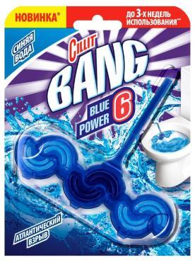Блок туалетный Cillit Bang Blue Power 6 Атлантический взрыв