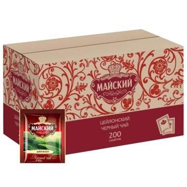 Чай Майский черный цейлонский 200 пак