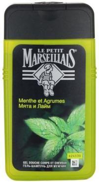 Гель-шампунь Le Petit Marseillais мужской С мятой и лаймом 250мл