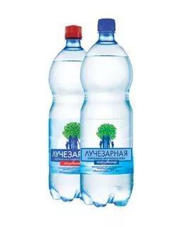 Вода минеральная Лучезарная газированная