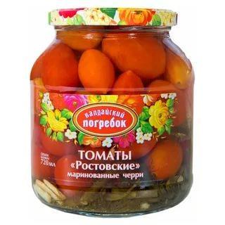 Овощные консервы Валдайский Погребок томаты черри