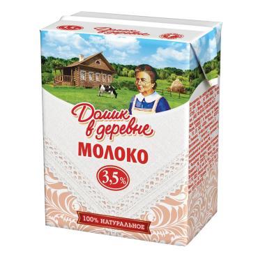 Молоко Домик в деревне ультрапастеризованное 3.5%