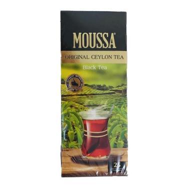 Чай Moussa черный с бергамотом