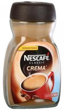 Кофе Nescafe Classic Crema 95гр