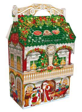 Новогодний подарок сладкий  Новогодняя мечта, Объединённые кондитеры, 1 кг., картон