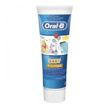 Зубная паста Oral-B Baby Мятный вкус