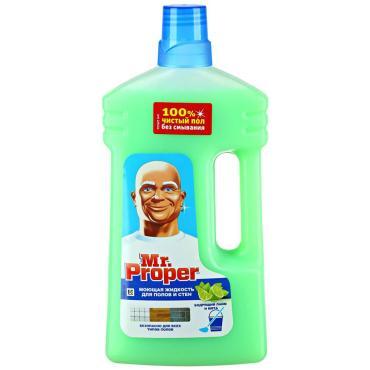 Моющая жидкость Mr.Proper Бодрящий лайм и мята для полов и стен