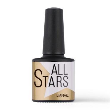 Лак для ногтей матовый топ Lianail All Stars, цвет прозрачный, 10 мл., Стекло