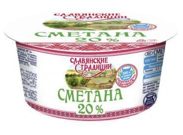 Сметана Славянские традиции 20,0%
