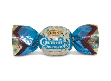 Карамель Рахат Сладкий холодок с ореховой начинкой