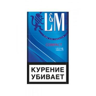 Сигареты с фильтром L&M compact, картонная пачка
