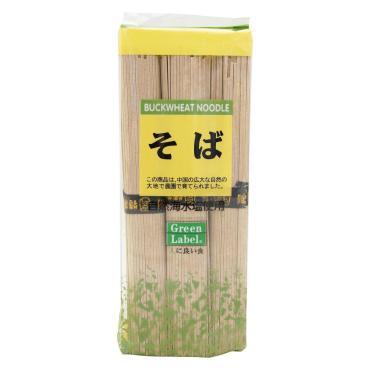 Макаронные изделия Green Label Лапша гречневая Соба, Китай