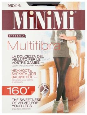 Колготки MiNiMi Multifibra 160 den, nero размер 3