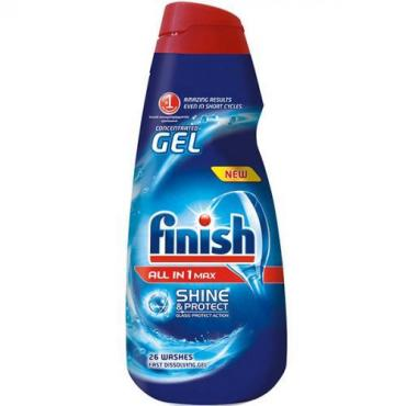 Гель для посудомоечных машин Finish All in 1 Shine&Protect
