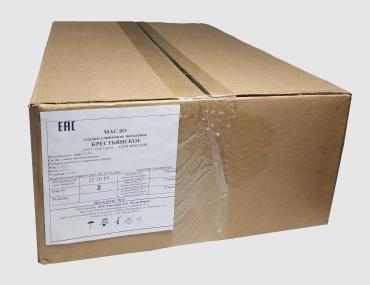 Масло сливочное Крестьянка монополит 72,5 % Белая ферма, 10 кг., Картонная коробка