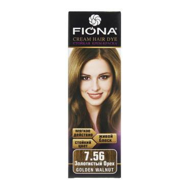 Краска для волос Fiona золотистый орех 6756