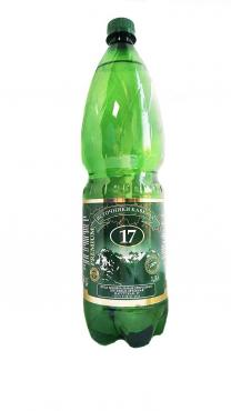 Минеральная вода Ессентуки-17, 1,5 л., Пластиковая бутылка