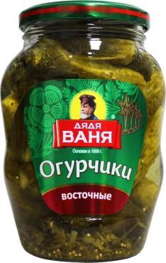 Огурчики Дядя Ваня Восточные
