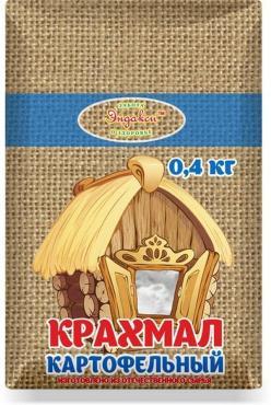 Крахмал картофельный Эндакси, 400 гр., бумажная упаковка