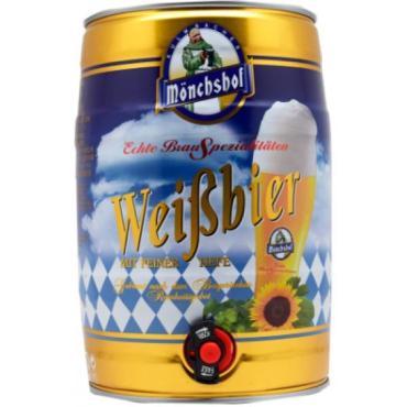 Пиво Monchshof Weissbier 5,4%
