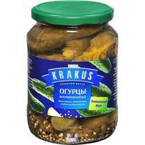Огурцы Krakus маринованные