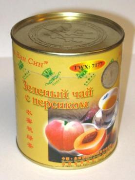 Чай Чю Хуа зелёный с персиком